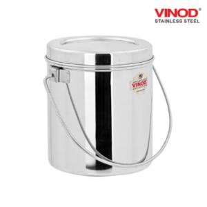 Vinod Stainless Steel Milk Pot