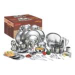 Vinod Stainless Steel Dinner Set