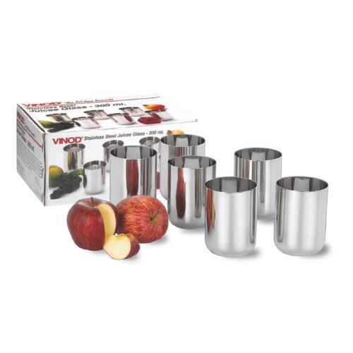 Vinod Stainless Steel Juicee Glass
