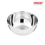 Vinod Stainless Steel Maharaja Bowl
