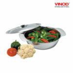 Vinod Stainless Steel Royal Veg Serving Dish