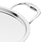 Vinod - Doniv Titanium Triply Stainless Steel Kadhai with Cover