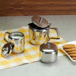 Vinod Stainless Steel Tea Pot Set