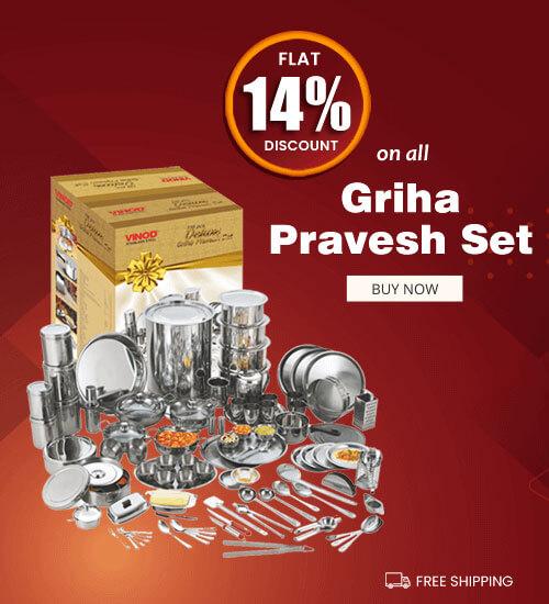 Flat 14% Discount on all Griha Pravesh Set